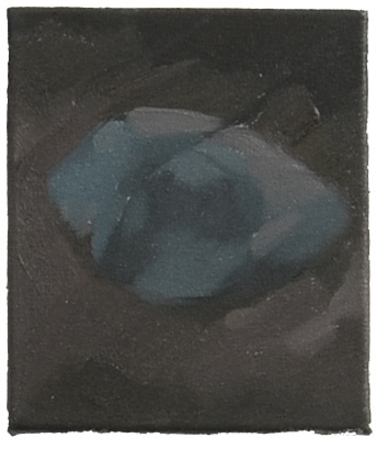 15. Hard-Boiled Night, Oil on canvas,21x18cm, 2014