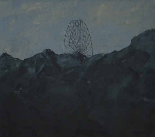 amusement park 1 , Oil on canvas, 70 x80, 2014