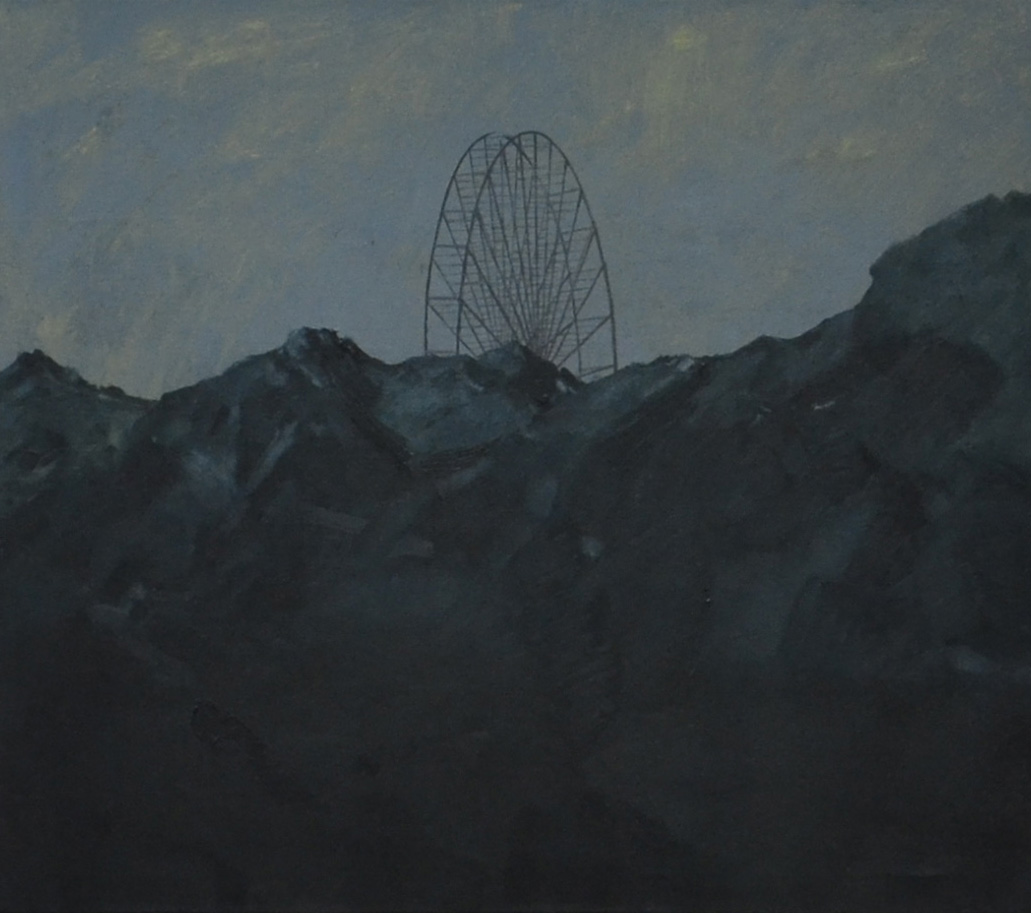 amusement park I, oil on canvas, 70 x 90 cm, 2014