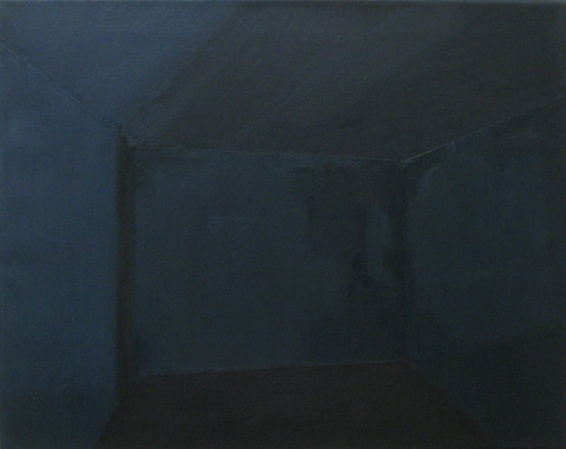 hard boiled night, oil on canvas, 40 x 50 cm, 2013