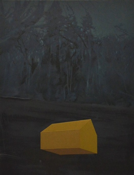 Untitled, Oil on canvas, 90 ×70 cm, 2013